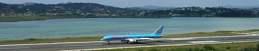 Airlines that fly to Corfu